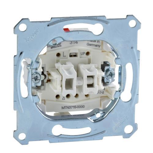 SCHNEIDER ELECTRIC -  MTN3715-0000 Еднополюсен ключ за щори 10а