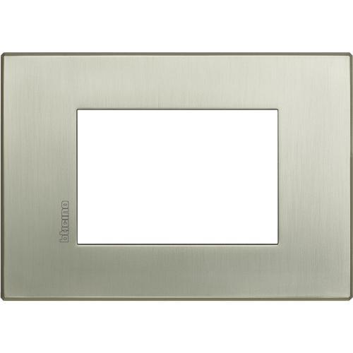 BTICINO - HW4803TIS Рамка 3М драскан титан Axolute Air