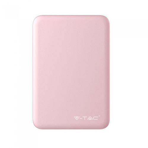 V-TAC - SKU:8194 VT-3503 5000mah POWER BANK-PINK