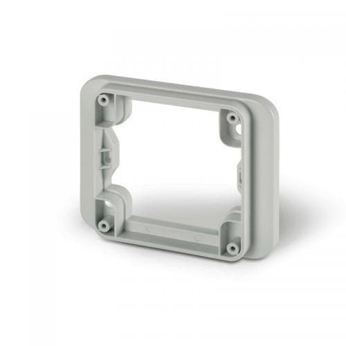 SCAME - Фланец с външен размер 95х95мм за механизми Protecta IP66 137.125