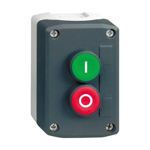 SCHNEIDER ELECTRIC - Бутониера с 2 бутона - зелен I | червен 0 Harmony XALD213
