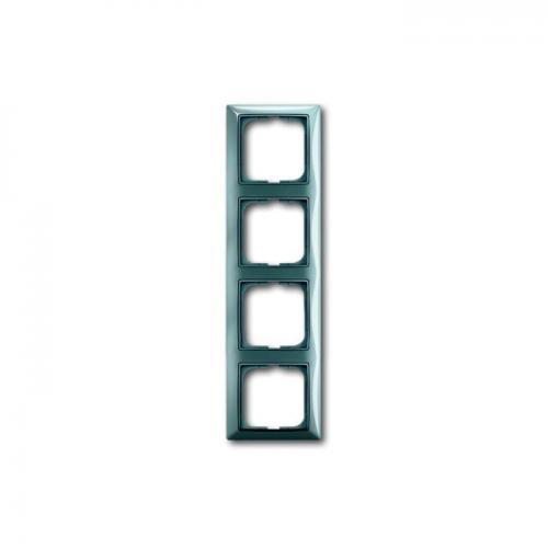 ABB - 2CKA001725A1524 Рамка четворна ABB Basic55 Синя