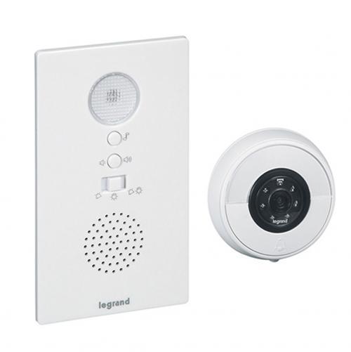 LEGRAND - 094232 Видео шпионка и звънец бяла