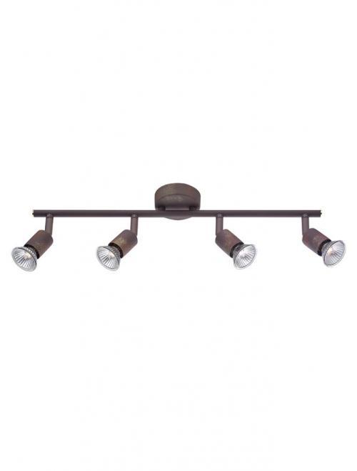 NOVA LUCE - Спот BASE 662004 GU10 4x50 Watt IP20 Bulb Excluded L: 51 W: 8 H: 10.9 cm