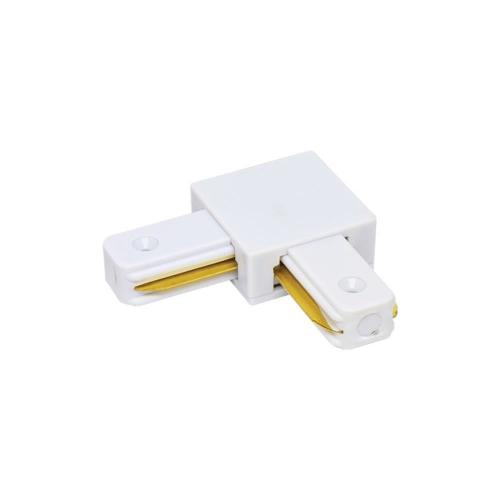 VIVALUX - Ъглов конектор за релса за осветителни системи LINK-L - бял VIV004074
