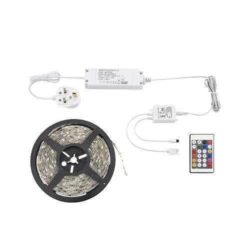 SAXBY - LED  лента   AQUALINE 51918  LED 24W, RGB, IP44
