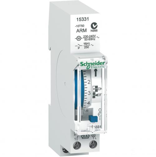 SCHNEIDER ELECTRIC - 15331 TIME SWITCH 7D WITH POWER RESERVE ACTI9
