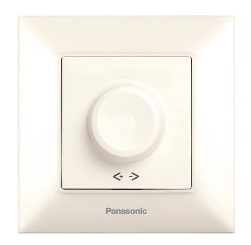PANASONIC - Димер RL 6-100W за LED крушки Panasonic Arkedia Slim крем WNTC0520-2BG