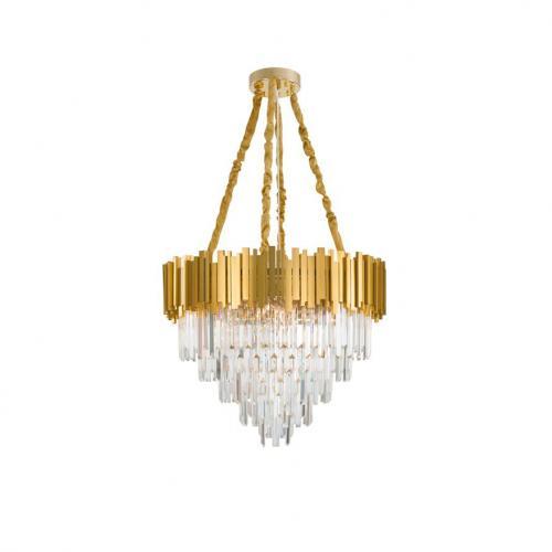 NOVA LUCE - Полилей GRANE 9050110 LED E14 12x5W 230V IP20 Bulb Excluded D: 73 H1: 50 H2: 120 cm