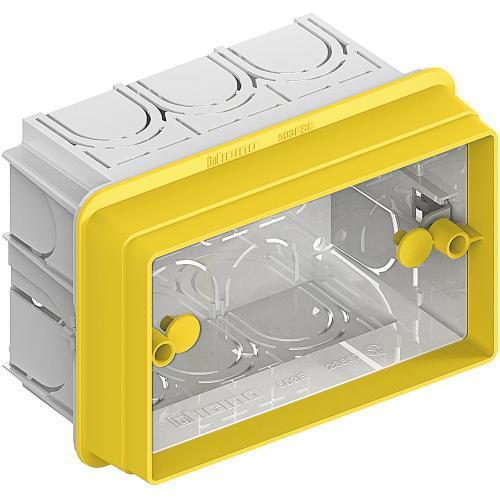 BTICINO - 503ESE адаптер за Конзола 503Е за мазилка 3 модула