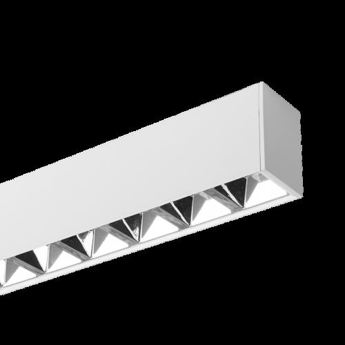 ULTRALUX - LSLG1204042 LED линейно осветително тяло UGR<19, бяло, 1,2м, 40W, 4200K, 220-240VAC, IP20