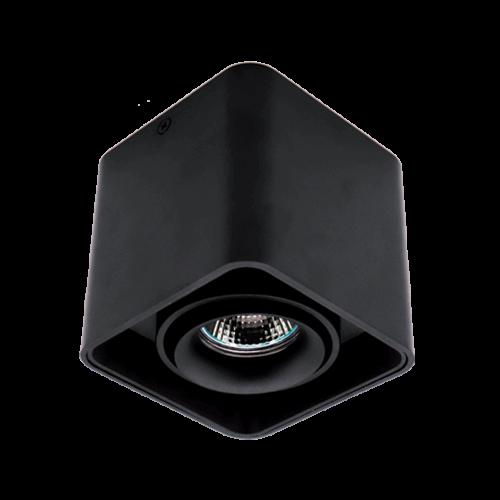 ELMARK - DL-044 Лунa за външен монтаж черна квадратна 92DL044S1/BL