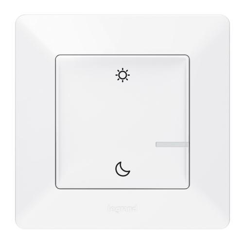 LEGRAND - Сценариен ключ безжичен събуждане/заспиване Netatmo 752189 Valena Life