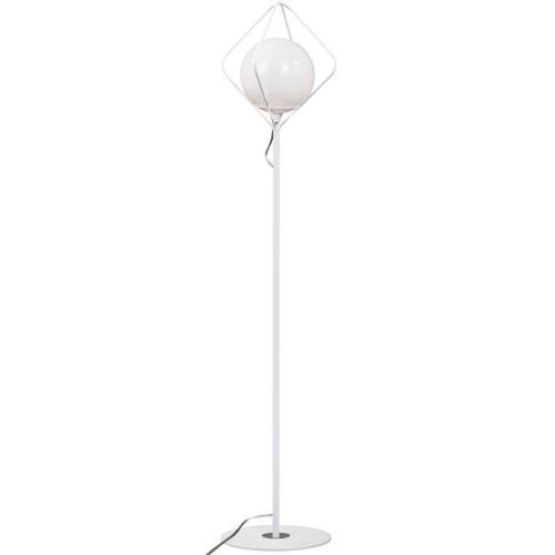 LIS LIGHTING -   Лампион DUKE 6018P-H01 E27, 1x40W, H:150, D:25cm, бял