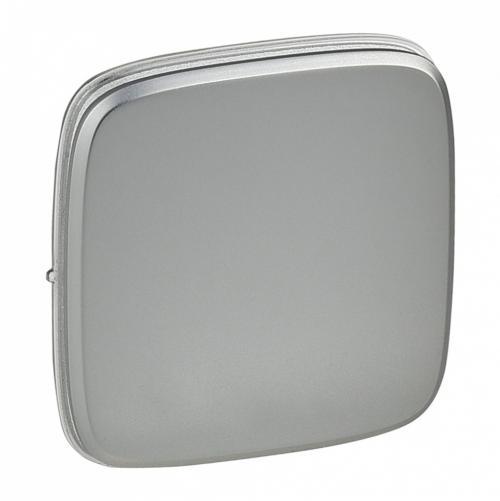 LEGRAND - 755013 Метален лицев панел за ключ/бутон Valena Allure светъл никел