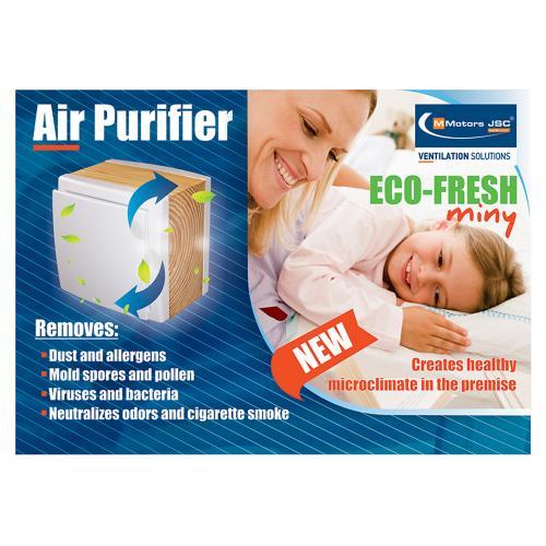 MMOTORS - Пречиствател на въздух и йонизатор ECO-FRESH mini LUX