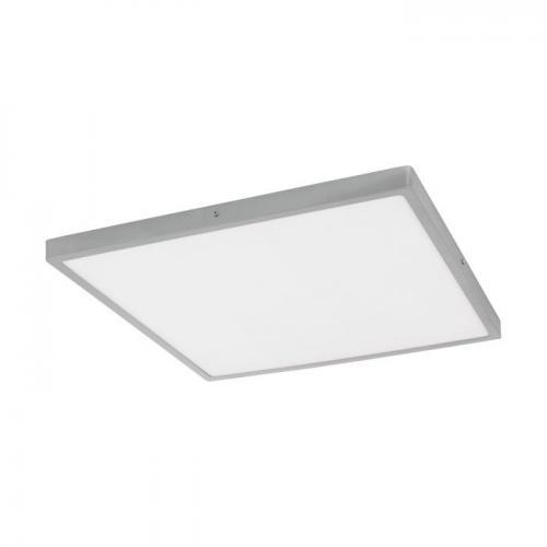 EGLO - ПЛ LED панел 25W 2700lm 3000K 500X500 димер.сребро 'FUEVA 1' 97274
