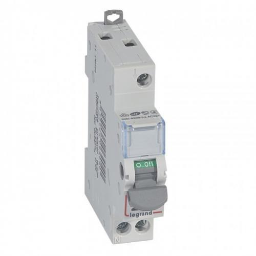 LEGRAND - Товаров прекъсвач със светлинна индикация /шалтер/ DX3-IS 20А 1P 406404