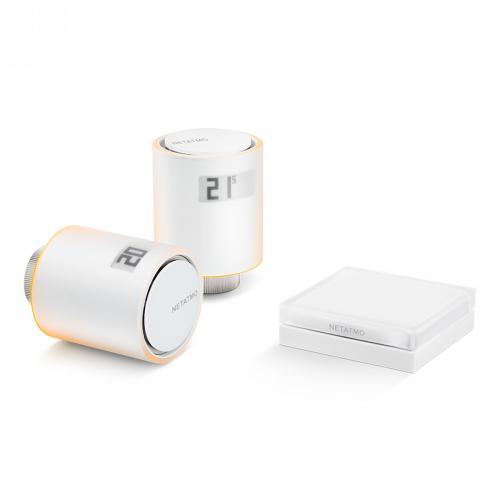 NETATMO - Стартов пакет - Вентили за радиатори Smart, централно отопление NVP-EN