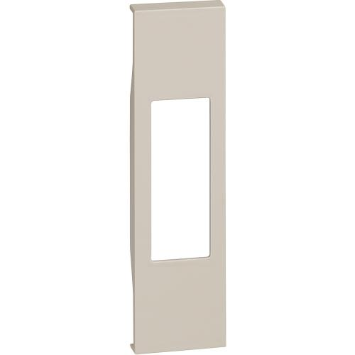 BTICINO - Лицев панел за единични розетки RJ45/LED лампа K4381 1 мод. цвят крем Living Now Bticino KM07