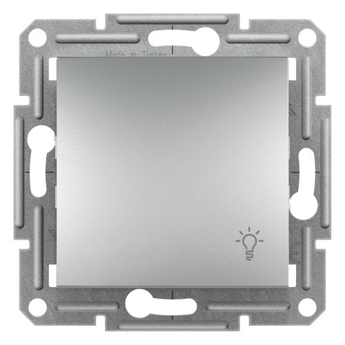 SCHNEIDER ELECTRIC - Бутон със символ осветление алуминий 10A Аsfora EPH0900161