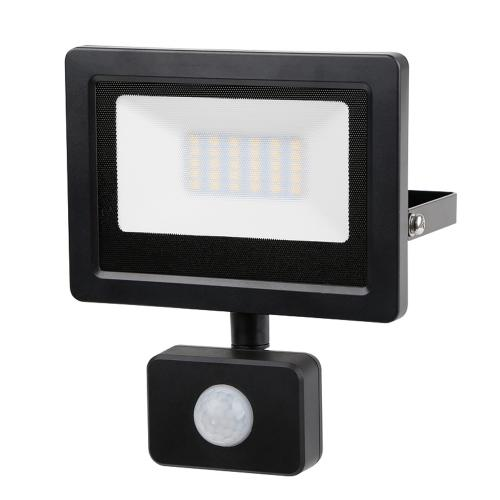 ULTRALUX - SPP42042 LED SLIM прожектор с датчик за движение 20W, 4200K, 220V, IP44