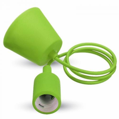 V-TAC - Пендел Зелен E27  SKU: 3486 VT-7228