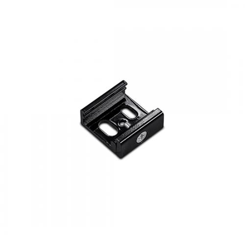ACA LIGHTING - Монтажна скоба за трифазна шина за вграждане черно 4WSTB