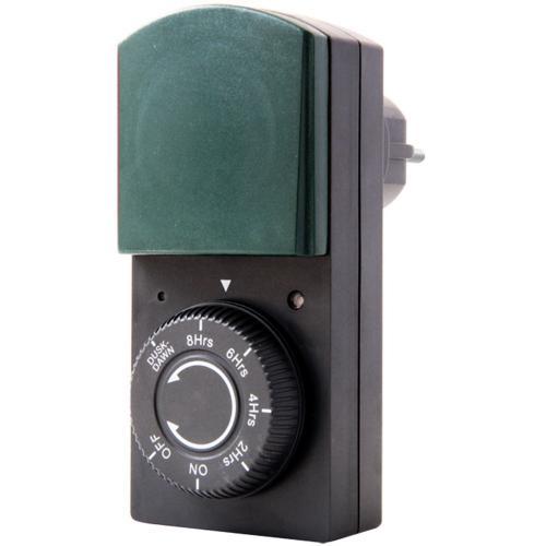 GAO - Фотоклетка със захранване от шуко 1000W и обратен таймер 2-8h IP44 0823H