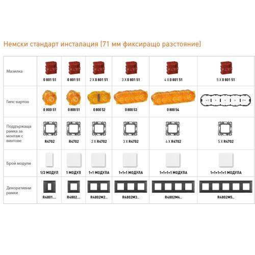 BTICINO - RW4501C Gateway with socket (German standard)