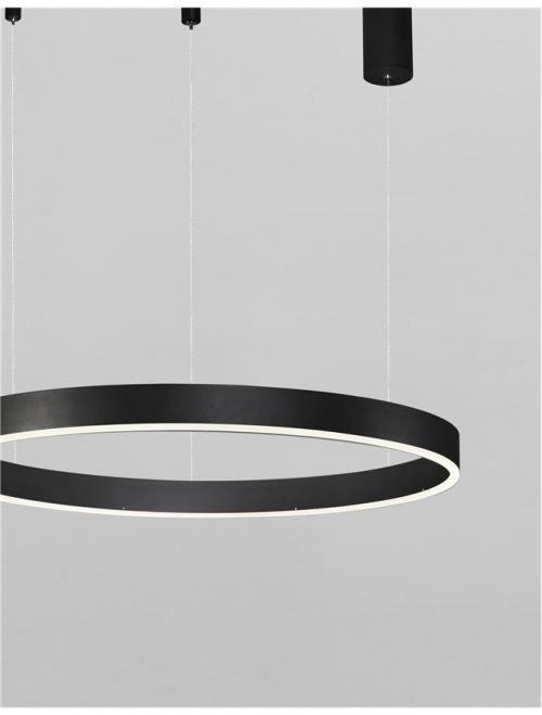 NOVA LUCE - Пендел MOTIF 9190840 LED 40W, 2800lm, 3000K, IP20 D: 60 H: 120 cm
