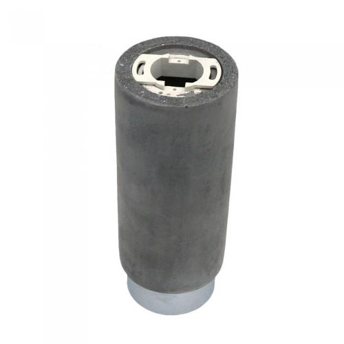 V-TAC - GU10 Гипсова Отливка Външен Монтаж Метал Хромирано Дъно SKU: 3138 VT-865