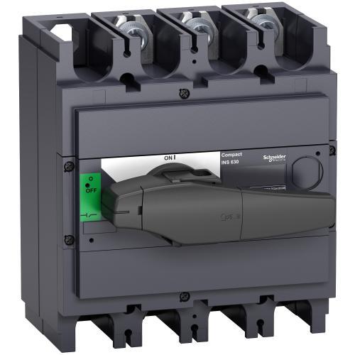 SCHNEIDER ELECTRIC - Товаров прекъсвач INS630 3P 630A с ръкохватка ComPact 31114