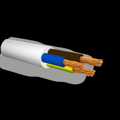БЪЛГАРСКИ КАБЕЛ - Кабел FROR 2X0,5мм2, 300/500V не поддържащ горене