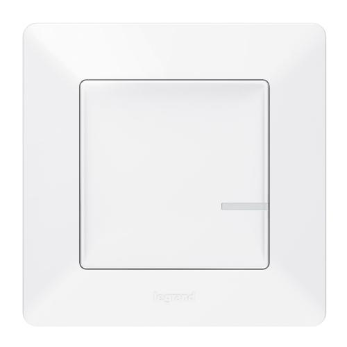 LEGRAND - Свързан ключ/димер 300W с компенсатор жичен Netatmo 752184 Valena Life