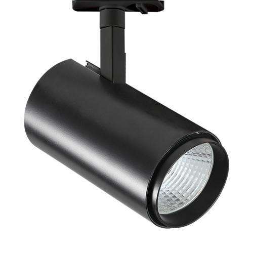 ACA LIGHTING - IDA3040B2 BLACK LED TRACK LIGHT 30W 4000K 2WIRES 38° 2800LM 230V Ra80