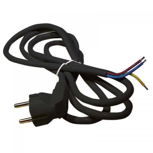 EMOS - Power supply cable, 3x1.5mm2, 3m, black