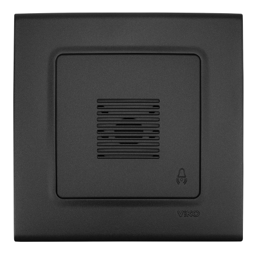 VIKO - Звънец LINNERA LIFE черно 90404006-BG