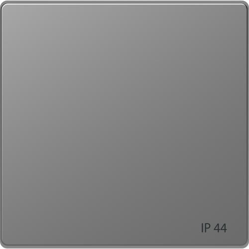 SCHNEIDER ELECTRIC - MTN3304-6036 Лицев панел за ключ/бутон IP44 неръждаема стомана System Design