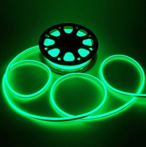 V-TAC - Neon Flex 24V Зелен SKU: 2517 VT-555G