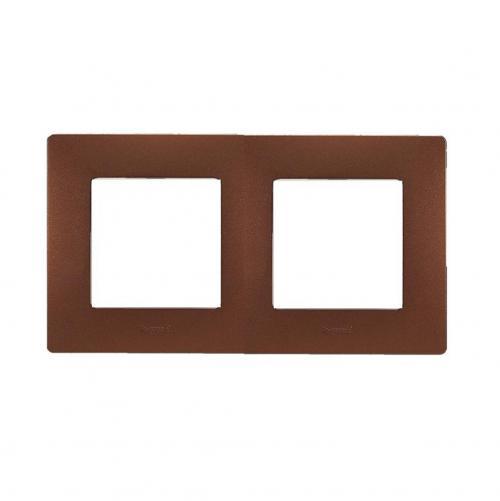 LEGRAND - Двойна рамка NILOE 397072 какао