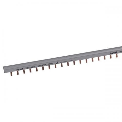 LEGRAND - Двуполюсен захранващ гребен тип ПИН за max. 27 свързани устройства 16мм2 404939
