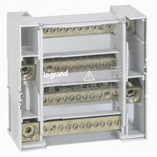 LEGRAND - Разпределителен клемен блок 250А 4P 9 модула 4877