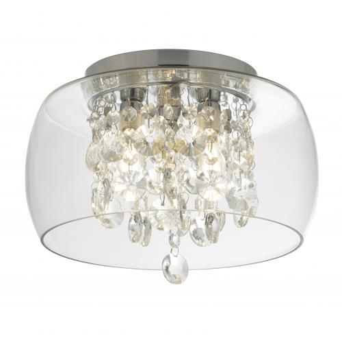 SEARCHLIGHT - Плафон за баня, кристал 1773CC Bathroom