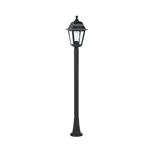 ACA LIGHTING - Градински фенер стоящ черен 105см влагозащитен IP44 PLGP5B