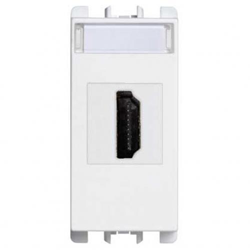 SIMON URMET - 10450.B HDMI socket connector, 1 mod. white