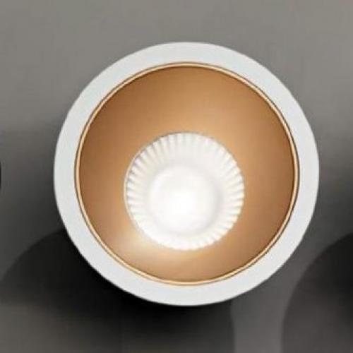IDEAL LUX - Луна GAME Fl1 ROUND White&Gold  192307