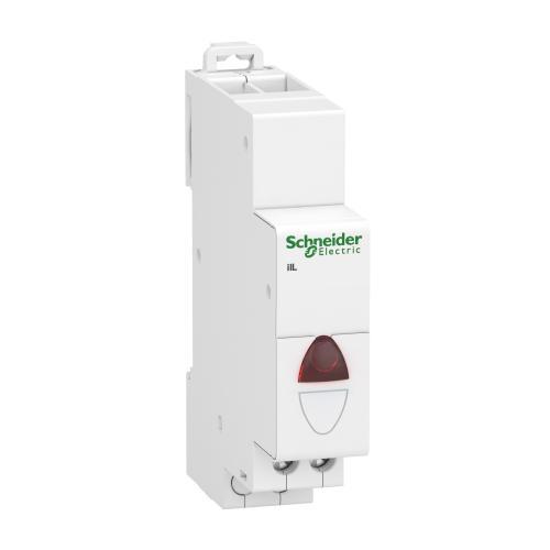 SCHNEIDER ELECTRIC - Модулен индикатор Acti 9 iIL 110…230Vac червен A9E18320