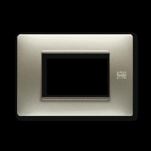 SIMON URMET - 11803.TT Titanium Technopolymer Flexa тримодулна рамка
