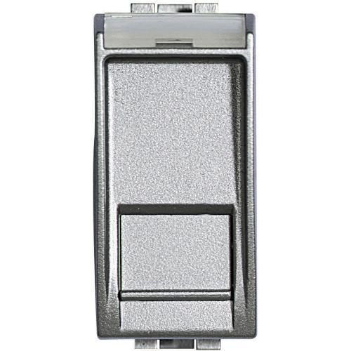 BTICINO - NT4279C5E Компютърна розетка RJ45 кат.5 UTP Алуминий